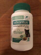 Advantus Small Dog 30 Soft Chew Oral Flea Treatment 4-22 lbs Expires April 2022