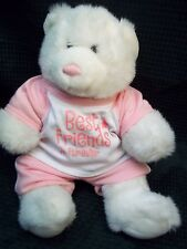 So Sweet White / Pink Build A Bear Cheerleader ' Best Friends Furever '