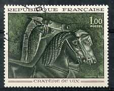 STAMP / TIMBRE FRANCE OBLITERE N° 1478 TABLEAU ART / VASE CRATERE DE VIX