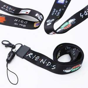 Friends Tv Show Lanyard Badge Id Lanyards Mobile Rope Key Accessories okgo aOQ4#