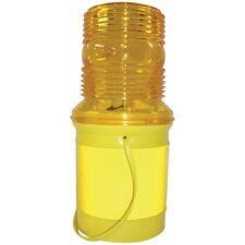 JSP Microlite MK2 Flashing Warning Light Hazard Skip Cone Road Lamp 360° Lens