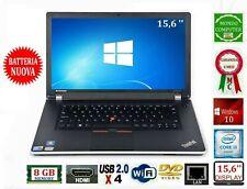 PC PORTATILE LENOVO EDGE INTEL CORE i 3 M380 RAM 8 GB WEBCAM WINDOWS 10
