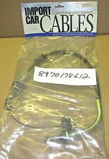 New 1991 Isuzu Impulse 1.6L clutch control cable 8970178612
