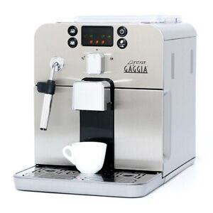 Refurbished Gaggia Brera Espresso Machine in Silver