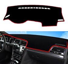 Red Inner Dashboard Dash Mat DashMat Sun Cover Pad Fit For VW Golf 7 VII MK7 GTI