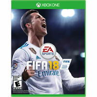 XBOX ONE FIFA18 Game used Disc Only * FREE SHIPPING *