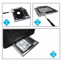Universal 12.7mm SATA 2nd SSD HDD Hard Drive Caddy for CD/DVD-ROM Optical
