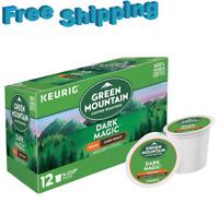 Green Mountain Coffee Keurig k-cups DARK MAGIC DECAF DARK ROAST