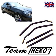 DME23275 MERCEDES E CLASS W212 4D 2009-2016  WIND DEFLECTORS 4pc HEKO TINTED