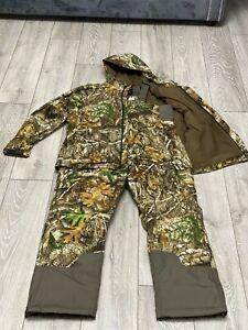 Realtree Camouflage Bib'n'Brace Jacket Suit. Fishing,Hunting,Shooting Waterproof