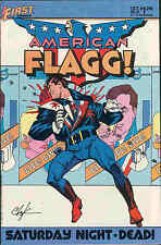 American Flagg! # 25 (Howard Chaykin, Alan Moore) (USA, 1985)