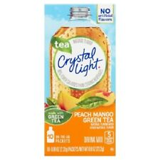 Crystal Light On the Go Tea Peach & Mango Green Tea Drink Mix