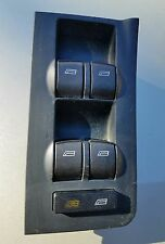 01-04 AUDI A6 S6 RS6 FRONT DRIVER LH MASTER WINDOW CONTROL SWITCH 4B0 959 851 B