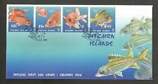 PITCAIRN ISLANDS 2003 SQUIRREL FISH FDC SG,651-654 LOT 4497A