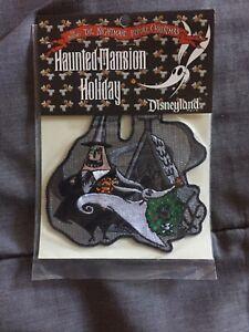 Disneyland Haunted Mansion Holiday Nightmare Before Christmas Zero & Mayor Patch