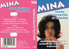 "MINA ""CANTA SUS EXITOS EN ESPAÑOL"" RARE SPANISH CASSETTE / BCN RECORDS - AS NEW"