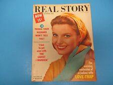 Real Story Magazine September 1958 The Sadist I Married Love-Trap M2045