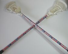 Lot of 2 Pabst Blue Ribbon Lacrosse 1 Lacrosse Complete Lacrosse Sticks