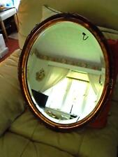 MIRROR  - SUPERB QUALITY BEVELLED OVAL MIRROR -  QUALITY -  STUNNING
