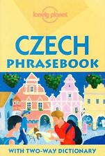 CZECH CZECHOSLOVAKIA PHRASEBOOK - WITH TWO-WAY DICTIONARY LONELY PLANET TRAVEL