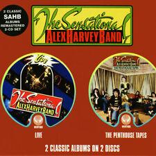 The Sensational Alex Harvey Band Livethe Penthouse Tapes 731458669821