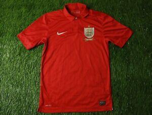 ENGLAND NATIONAL TEAM 2013/2014 FOOTBALL SHIRT JERSEY AWAY NIKE ORIGINAL SIZE S