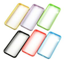 Ultra Thin Transparent Crystal Clear Hard TPU Case Cover For Apple iPhone 5 5S