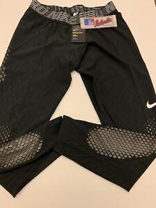Nike Pro Hyperstrong Baseball Softball Slider Black Pants Mens XL AA9788-010