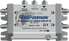 3x4 satellite multiswitch (multiswitch MS3/4EUP-2) - 4 YEAR WARRANTY, Made in EU