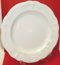 Federalist WHITE Ironstone DINNER PLATE ~ Made in Japan ~ Dishwasher/Oven Safe