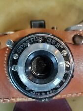 "Vintage Spartus ""35F"" Model 400 Bakelite Body 35mm Film Camera"