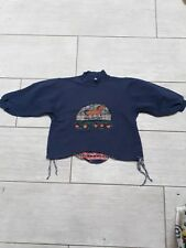 TOFF TOGS schönes Sweatshirt mit Pferd  blau Gr. 104
