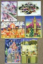 JERUSALEM 2000 ~ POSTER ART SET OF 6 CARDS ~ GORGEOUS!