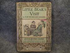 Little Bears Visit Else Holmelund Minarik 1961 Vintage Hardcover Childrens Book