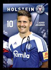 Casper Johansen Autogrammkarte Holstein Kiel 2013-14 Original Sign+A 131640