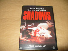 Shadows Dario Argento dvd 2004 Region 2 No Booklet dvd excellent condition