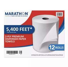 Marathon Paper Towels, 450 ft, 12-count
