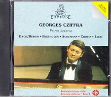 Georges Cziffra Piano Recital - Bach-Busoni Beethoven Schumann Chopin Liszt