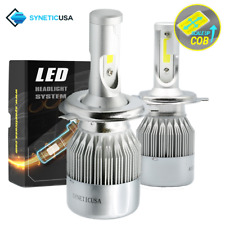 H4/9003 CREE LED Headlight Conversion Kit High/Low Beam 6000K White Light Bulbs