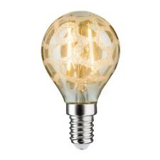 Lámpara LED GOTAS 2,5w E14 krokoeis ORO 230v 283.68 Paulmann forma gota