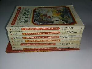 Cyoa Choose Your Own Adventure Lot Of 7