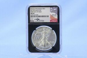 USA 2017 Silver Eagle  1 oz Silber NGC MS 69  First Day of Issue