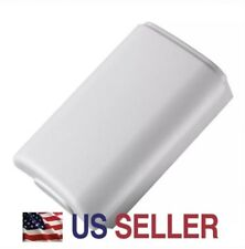 White Battery Pack Cover Shell For Xbox 360 Controller
