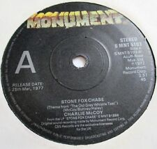 Charlie McCoy Piedra Fox Chase (Antiguo Gris silbato tema de prueba) 1972 monumento Promo
