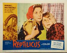 REPTILICUS SCI-FI Horror 1961 2 LOBBY CARDS