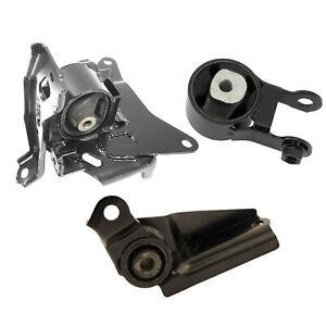 For 08-14 Scion xD 1.8 4237 62044 62087 Set 3PCS Engine Motor & Auto Trans Mount