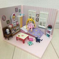 Premium Bandai Limited Sailor Moon Room Serena Tsukino Usagi Doll House Used