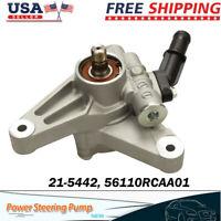 Power Steering Pump For 03 04 05 06 Honda Accord V6 3.0L Acura MDX In US Stock