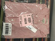 J Crew Men's Striped Oxford