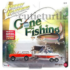 Johnny Lightning 1969 Chevrolet Blazer 1/64 Gone Fishing JLBT002 36F A Orange